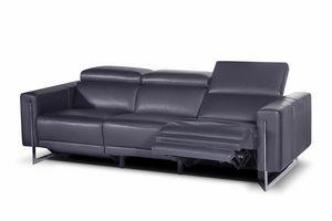 Liberty, Sofá de cuero con asiento reclinable