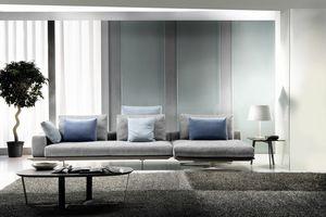 Mastroianni, Sofá seccional con un diseño refinado