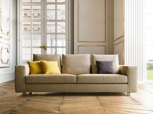 Palio, Sofá con diseño lineal y refinado