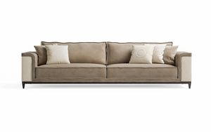 Starlight Art. ST770, Sofá tapizado en piel y nubuck