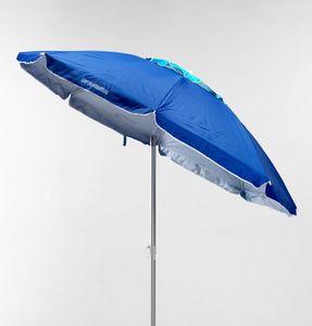 Parasol Corsica – CO200UVA, Sombrilla de playa, a prueba de viento, para la piel sensible