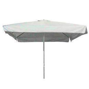 Sombrilla para jardín 3x3 barra central de aluminio cuadrado MARTE - MA300UVQ, Sombrilla cuadrada con poste central