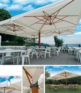 Palladio poker/double, Paraguas de sol doble con estructura de aluminio