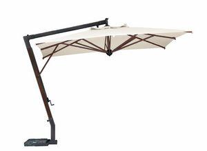 Parà 3040, Parasol rectangular de madera en voladizo