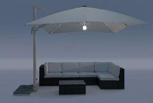 UM Cagliari Light, Paraguas de aluminio con tela impermeable