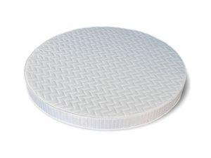 Sole, Colchón redonda, disponible en varios tamaños y espesores