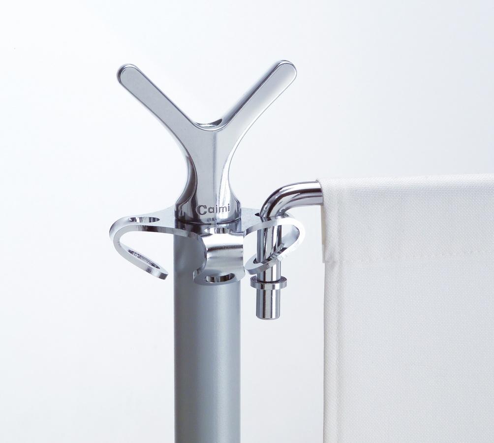 Battista partition system, Particiones en el cuerpo de acero y aluminio para espacios abiertos