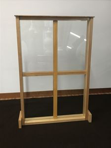 Tabique, Tabique de vidrio irrompible