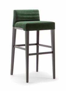 GINEVRA BAR STOOL 031 SG, Taburete de diseño contemporáneo