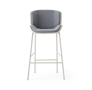 ART. 0083-MET STOOL SKIN, Taburete de metal, para exteriores y interiores.