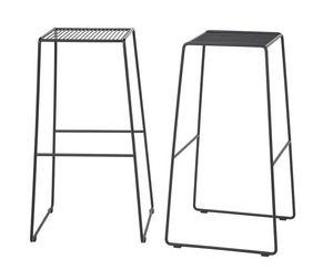 Art.Easy 2, Taburete de acero con recubrimiento en polvo, base extensible, externa
