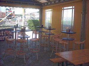 Max cod. 16 cod. 19, Taburete moderno para el restaurante al aire libre y un bar