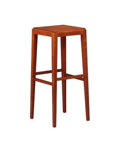 252, Taburete de madera de haya, resistente, para bar de copas