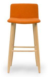 Web stool, Taburete moderno acolchado