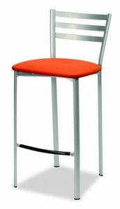 784 Liv, Taburete de cocina, con asiento acolchado