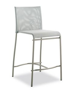 Art. 548 Matrix, Taburete de metal, con asiento en la red de pvc