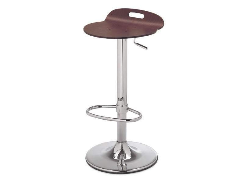 SG 339, Taburete de metal con asiento de madera, para la cocina