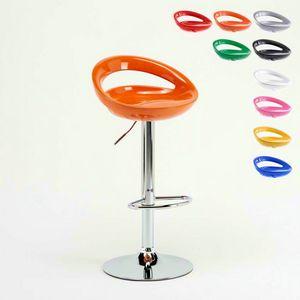 Taburete ajustable de barra de cocina Hollywood – SGA054HOL, Taburete alto ajustable, con asiento 360° ergonómico