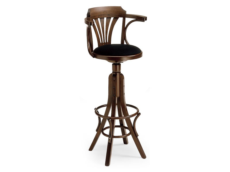 SG600/G, Taburete de madera curvada para bares y pubs