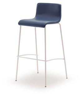 SG 353, Taburete fijo con asiento de madera