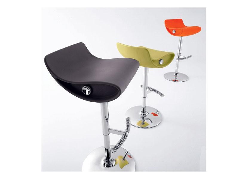 Momo 487, Taburete innovadora, ajustable, giratorio, hoteles