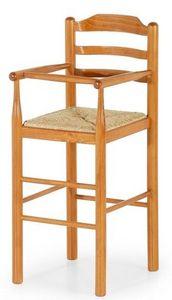 Baby, Taburete de madera para niños adecuado para los restaurantes, las heces de los niños para la cocina