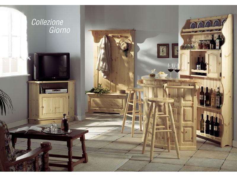 Collection Giorno, Aparador para el salón, en estilo rústico