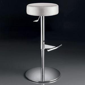 ART. 244/B SOFT, Taburete giratorio, regulable en altura, con asiento redondo