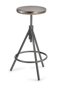 Vitone 1 SG, Taburete con asiento de tornillo ajustable