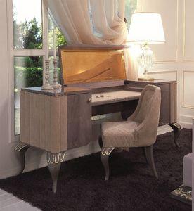 Art. 113, Toilette escritorio con cajones laterales y el espejo retráctil