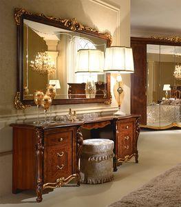 Donatello tocador, Tocador de lujo, decorado a mano, para el dormitorio