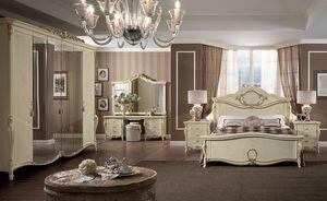 Tocador Tiziano, Tocador de lujo clásico, a los dormitorios