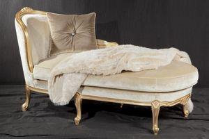 Luigi Filippo tela, Sofá-cama de lujo, de estilo barroco