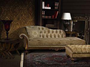 ATENA chaise longue 8556L, Chaise longue de acolchado de poliuretano, acolchado, para vestíbulo