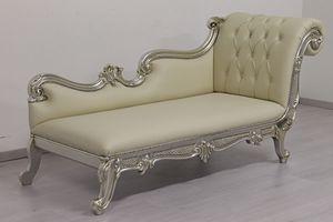 Augusto, Chaise longue en madera tallada