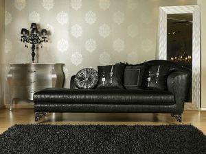 BETSY chaise longue 8551L, Chaise longue de lujo clásico, varios acabados, para la oficina