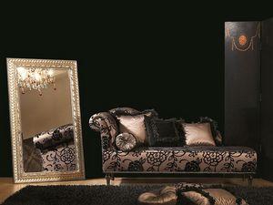 DAISY chaise longue 8545L, Chaise longue, con pelo insertado, para la oficina clásico de lujo