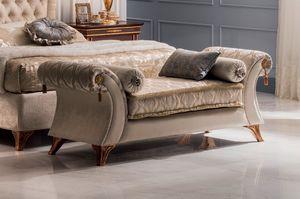 Modigliani chaise longue Vittoria, Chaise longue para dormitorio