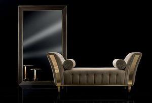 DIAMANTE chaise longue, Sofá acolchado para sala de estar