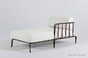 MARINA GF4029BE, Chaise longue en hierro forjado