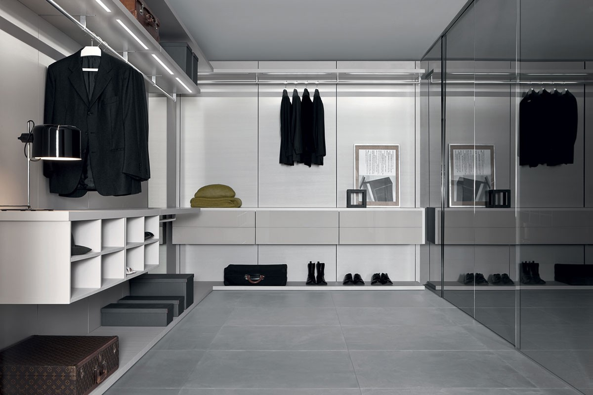 Anteprima closet, Walk-in closets modernos, armario