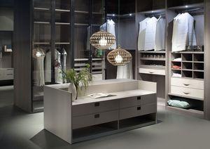 ATLANTE vestidor comp.05, Walk-in closet, orden estético, medidas personalizables