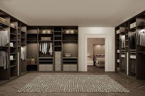 ATLANTE vestidor comp.08, Dormitorios gabinetes en roble, la optimizaci�n del espacio