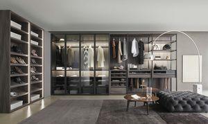 Bellavista, Walk-in closet con accesorios personalizables
