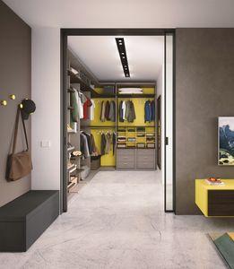 Boxer 1820 walk-in closet, Equipado vestidor