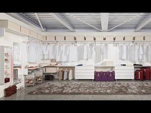 Cabina Keep Up 11, Elegante y funcional armario, hoteles