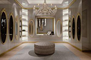 Hotel de Ville Walk-in closet, Vestidor de lujo a medida