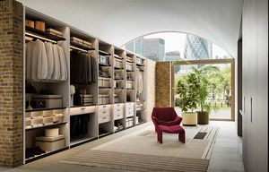 Shop, Elegante y pintoresco walk-in closet