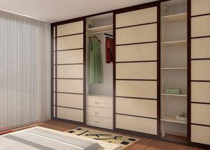 Vestidor, Vestidor de estilo japonés