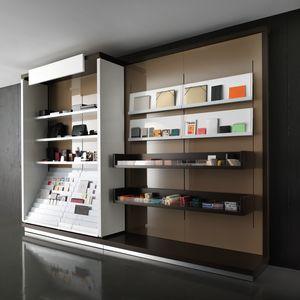 Revolution - unidad de pared para estancos y papelería, Muebles de exhibición modulares, para papelerías y estancos